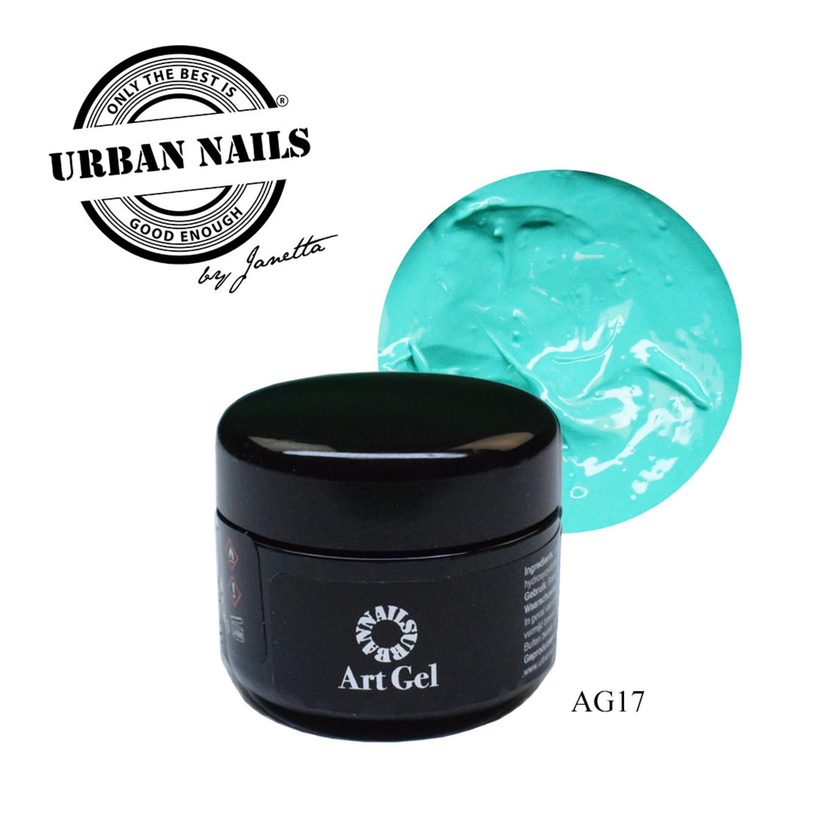 Urban Nails Art Gel 17 Turqouise