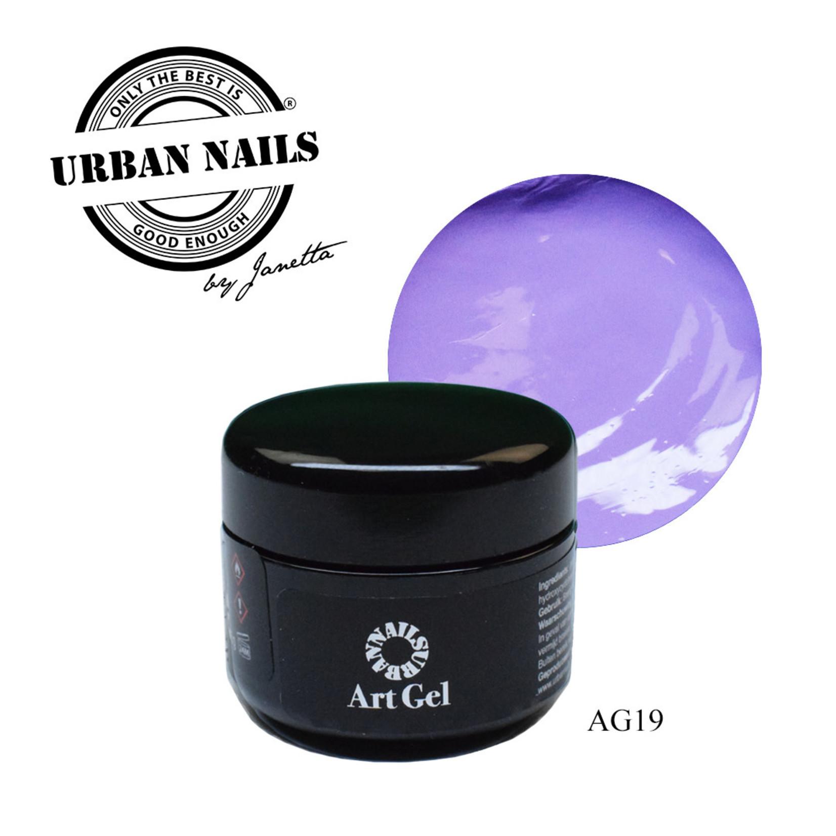 Urban Nails Art Gel 19 Lila