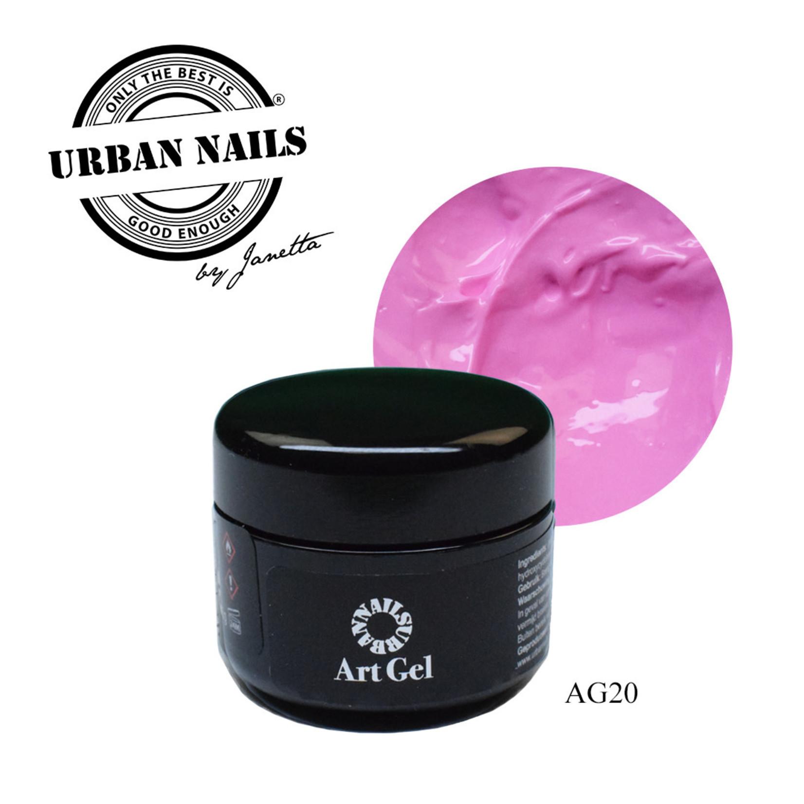 Urban Nails Art Gel 20 Roze