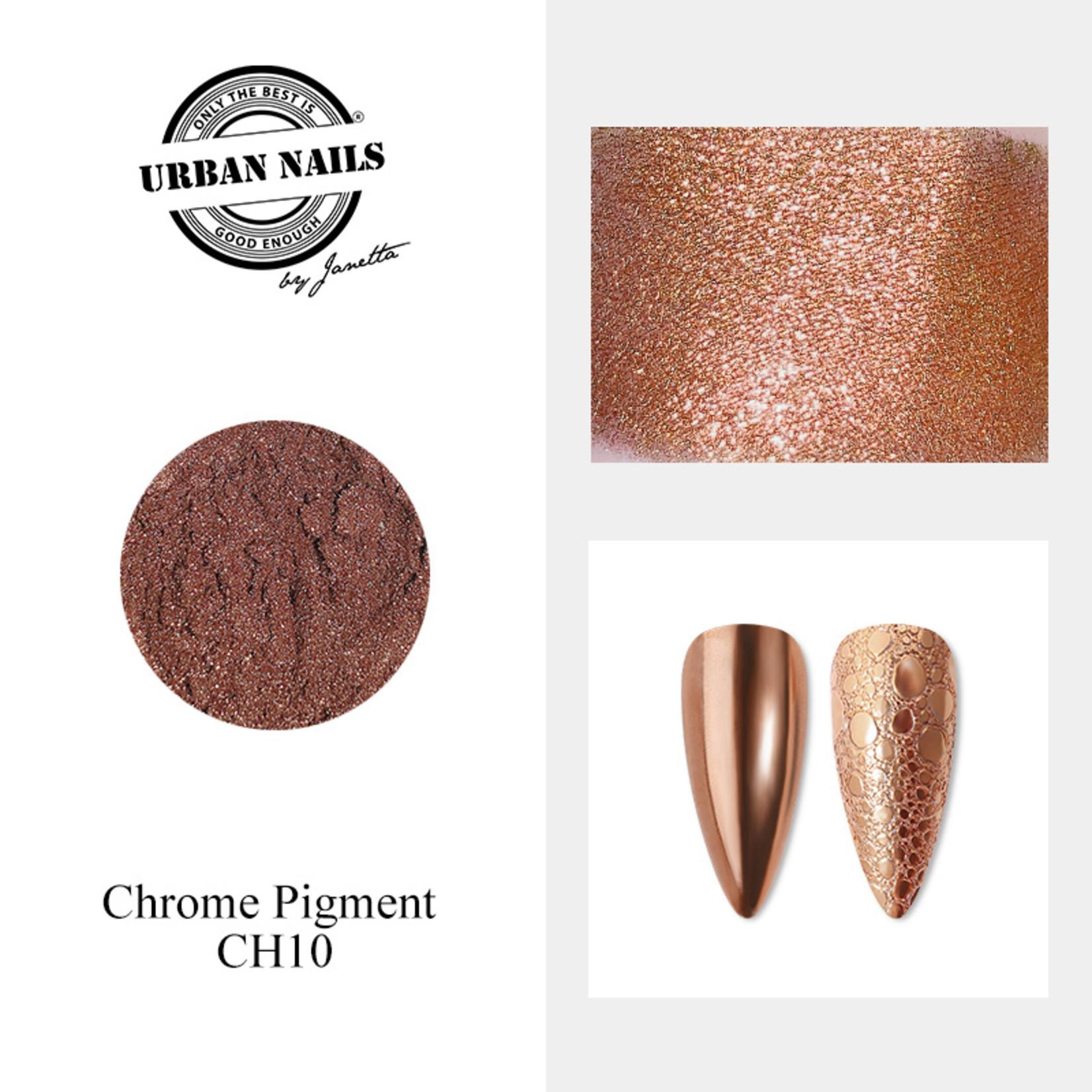Urban Nails Chrome pigment 10 Brons
