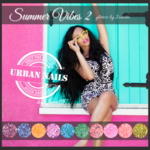 Urban Nails Summer Vibes glitter collection 2