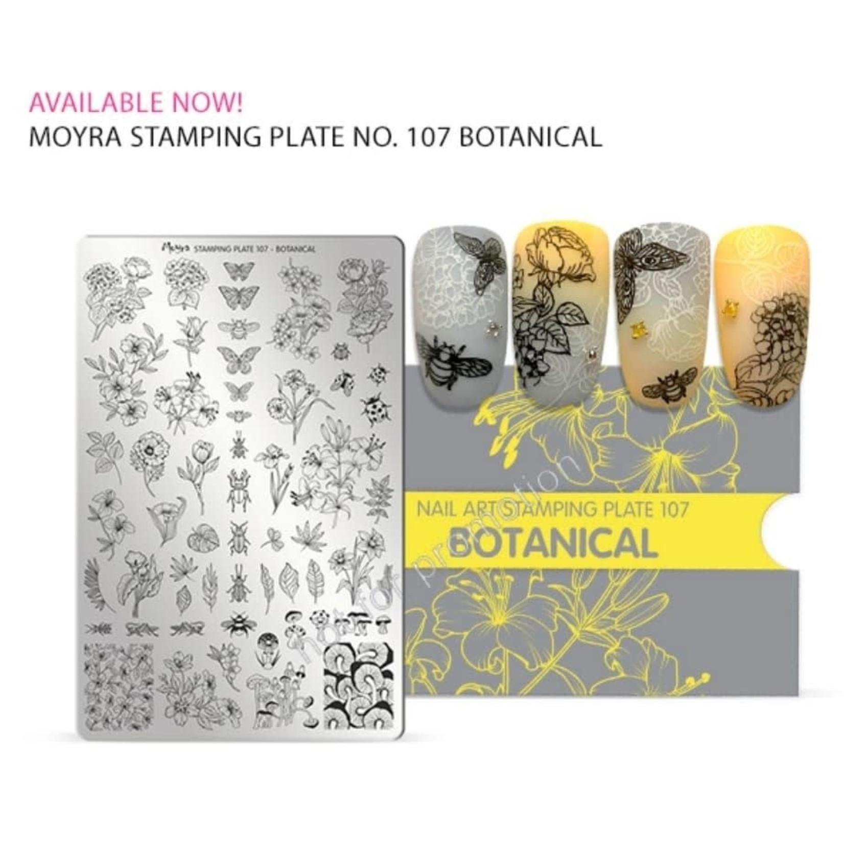 Moyra Moyra Stamping plate 107 Botanical
