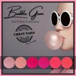 Urban Nails Bubble Gum Gelpolish Collection + Glitter Collection