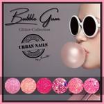 Urban Nails Bubble Gum Glitter Collection