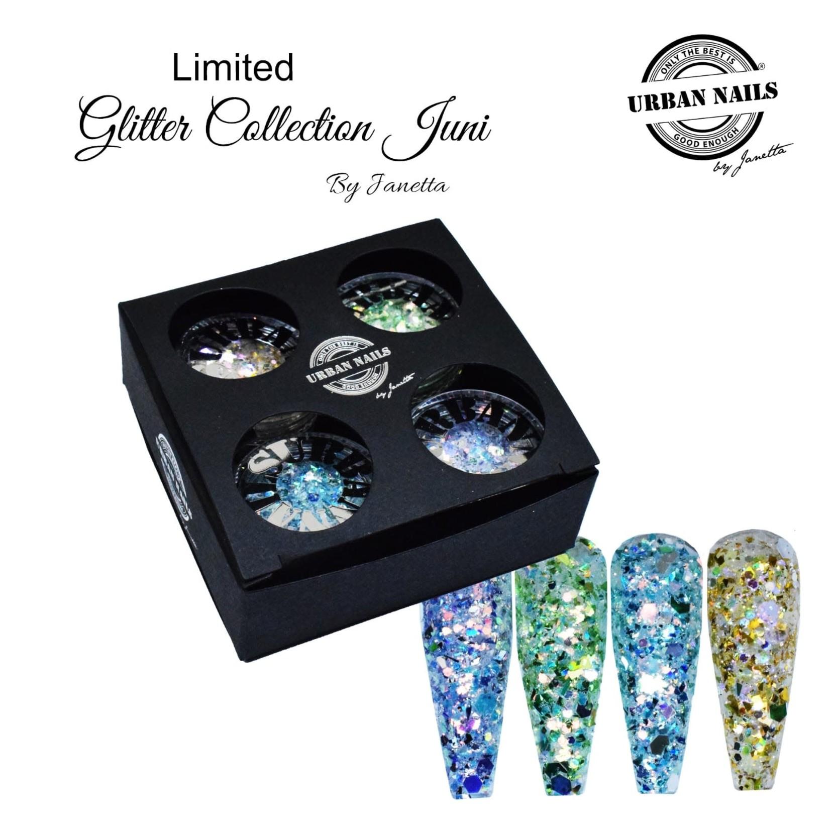 Urban Nails Glitter Collection Juni