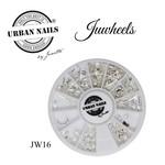Urban Nails JuWheels JW16  Zilver