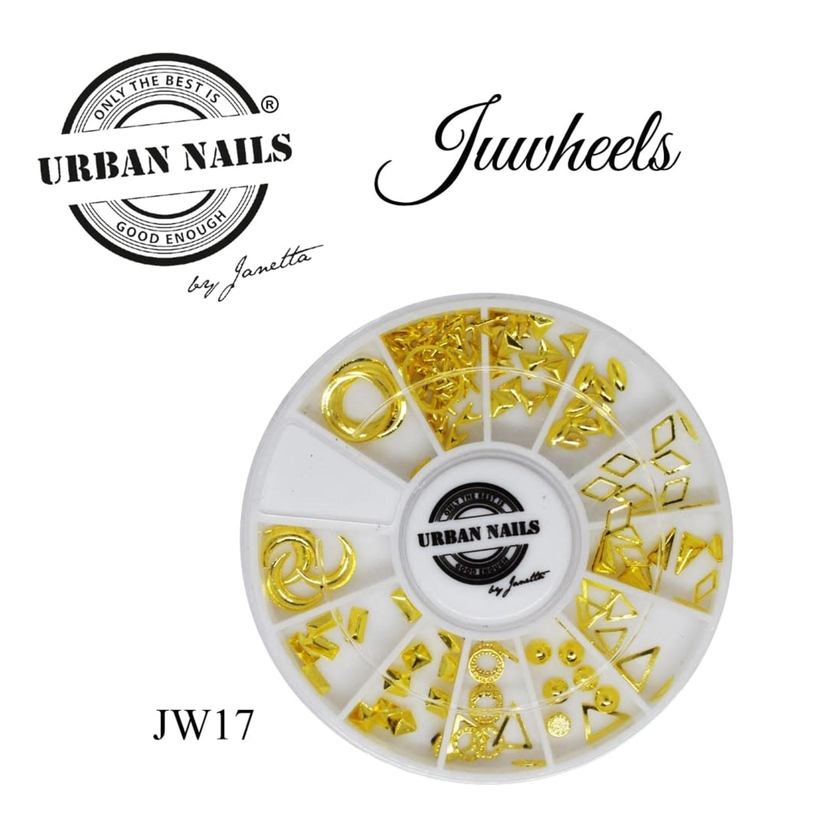 Urban Nails JuWheels JW17 Gold