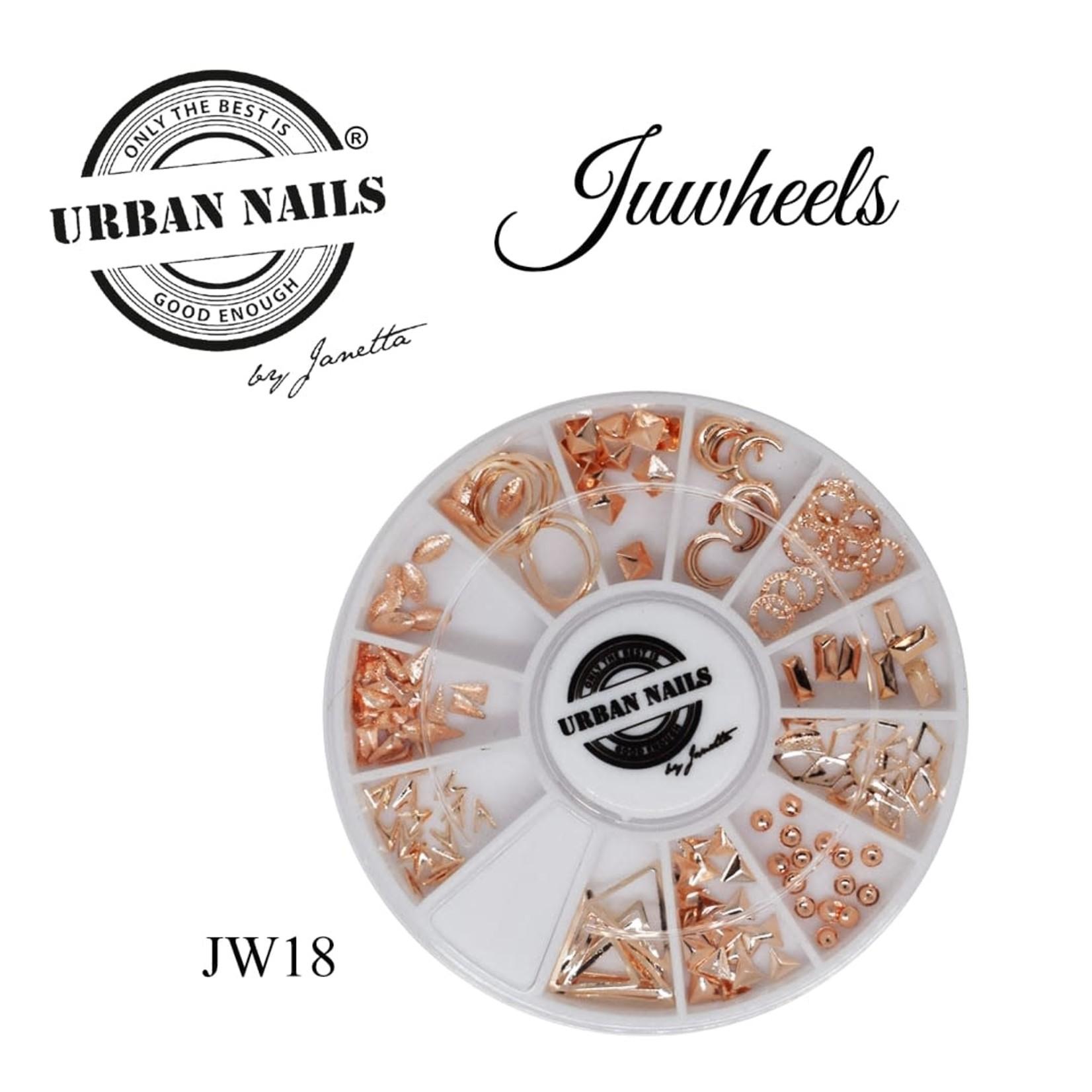 Urban Nails JuWheels JW18 Rosé Gold
