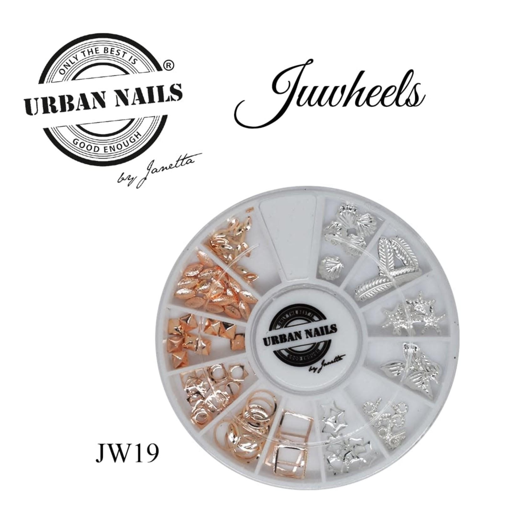 Urban Nails Juwheels JW19 Mix