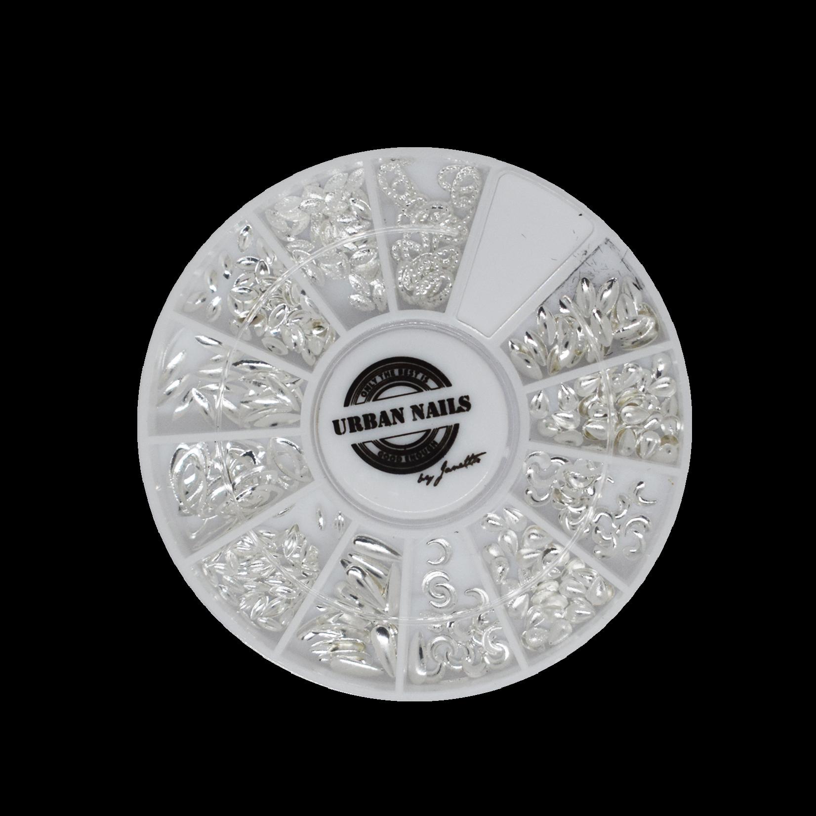 Urban Nails Juwheels JW20 Silver