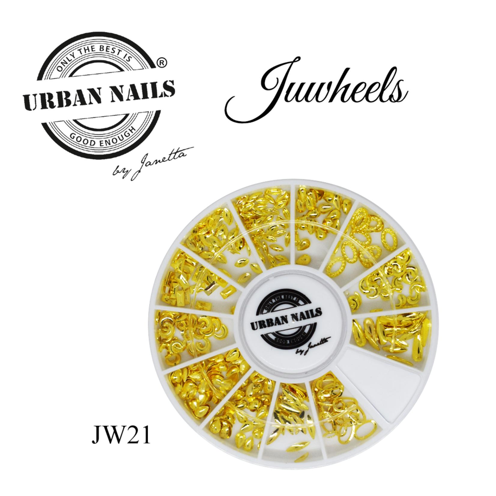 Urban Nails Juwheels JW21 Gold