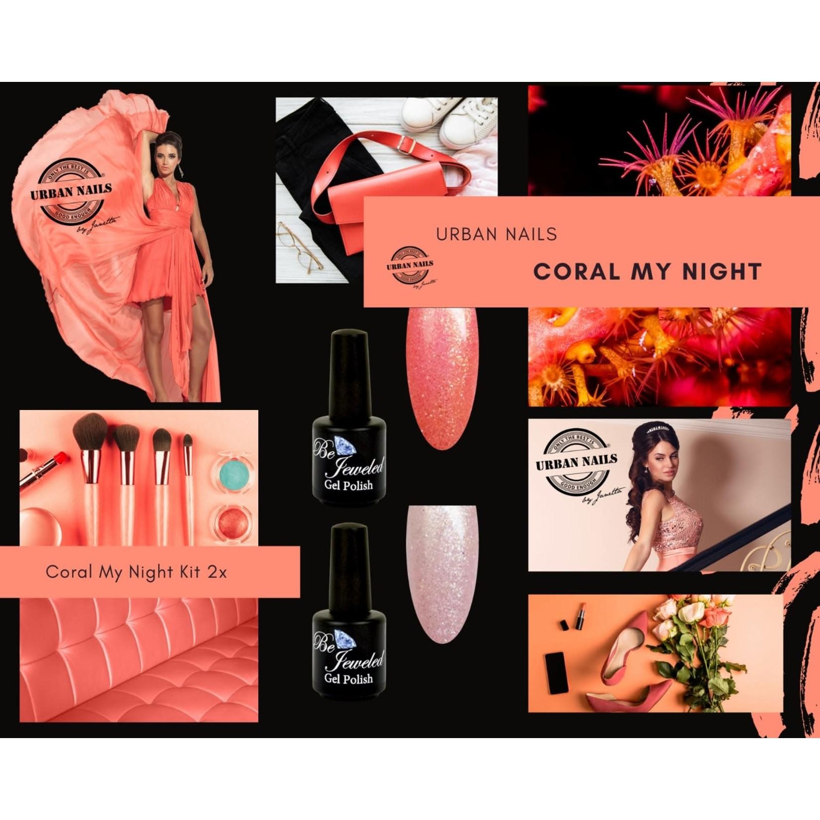 Urban Nails Coral My Night