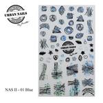 Urban Nails NAS 01 Blue
