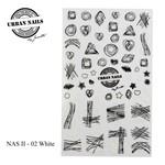 Urban Nails NAS 02 White