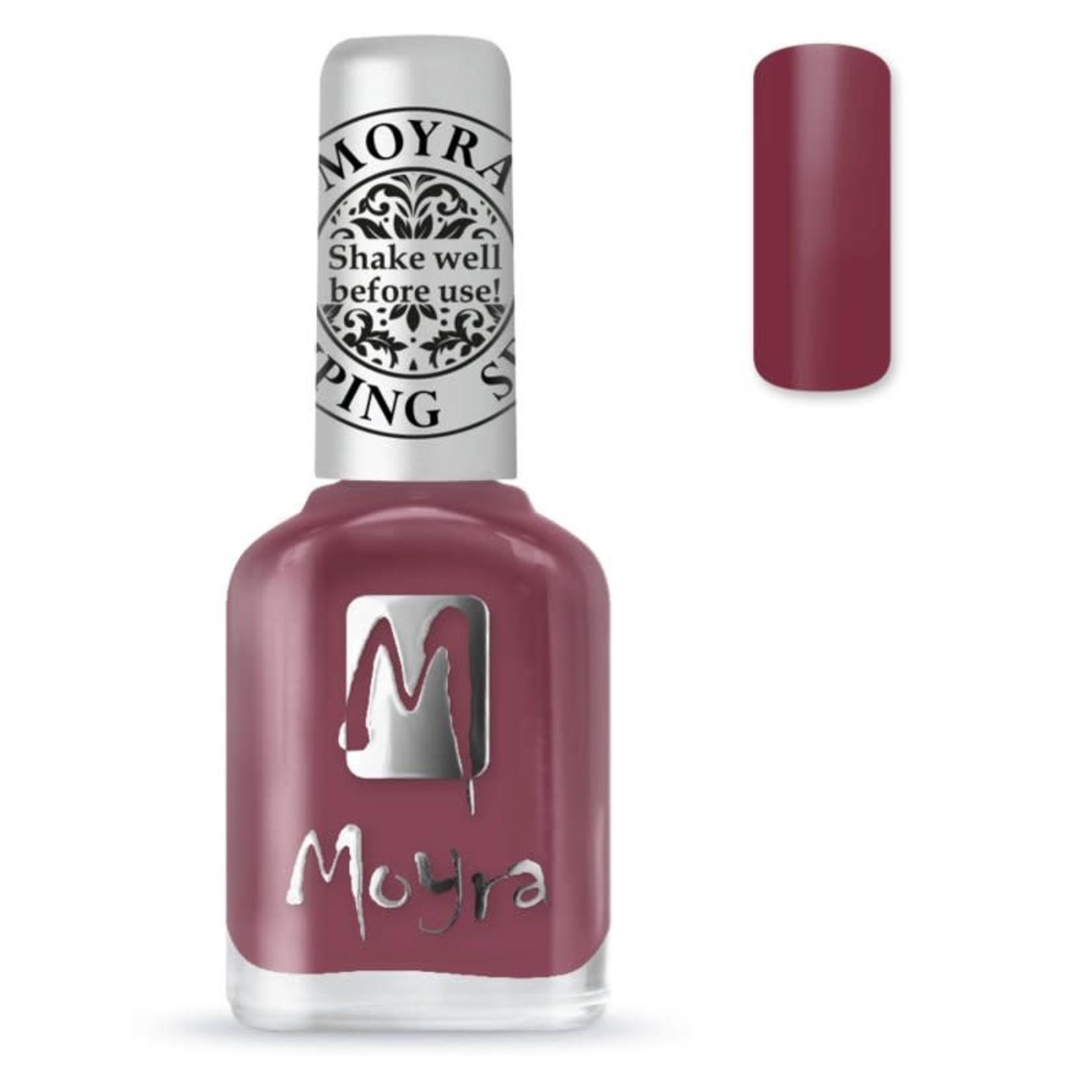 Moyra Moyra Stamping nail polish SP38 Casmere Bordeaux