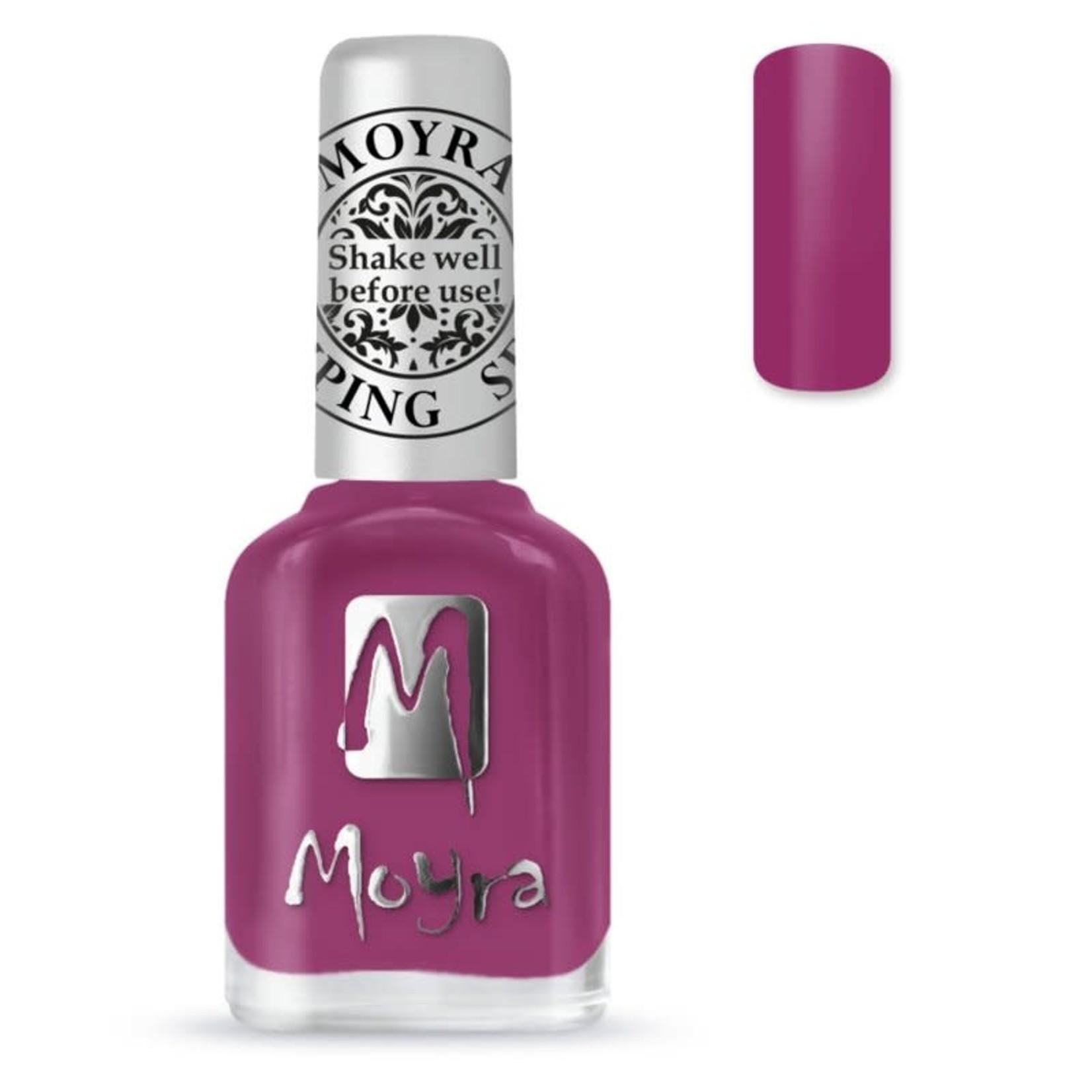 Moyra Moyra Stamping nail polish SP39 Peony red