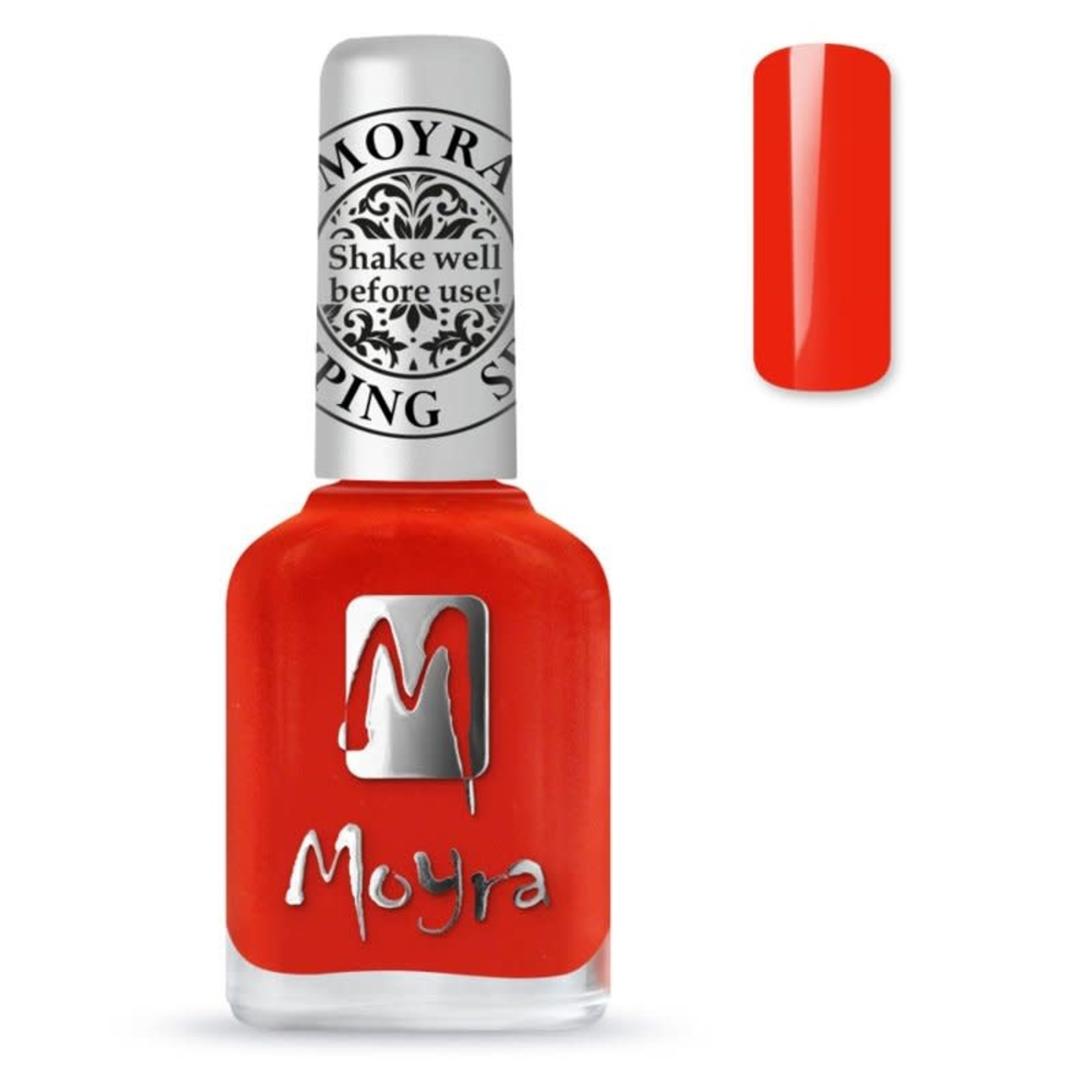Moyra Moyra Stamping nail polish SP41 Amber Orange