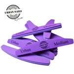 Urban Nails Paarse buffer Medium