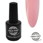 Urban Nails Rubber Base Baby Pink Gold Flesje