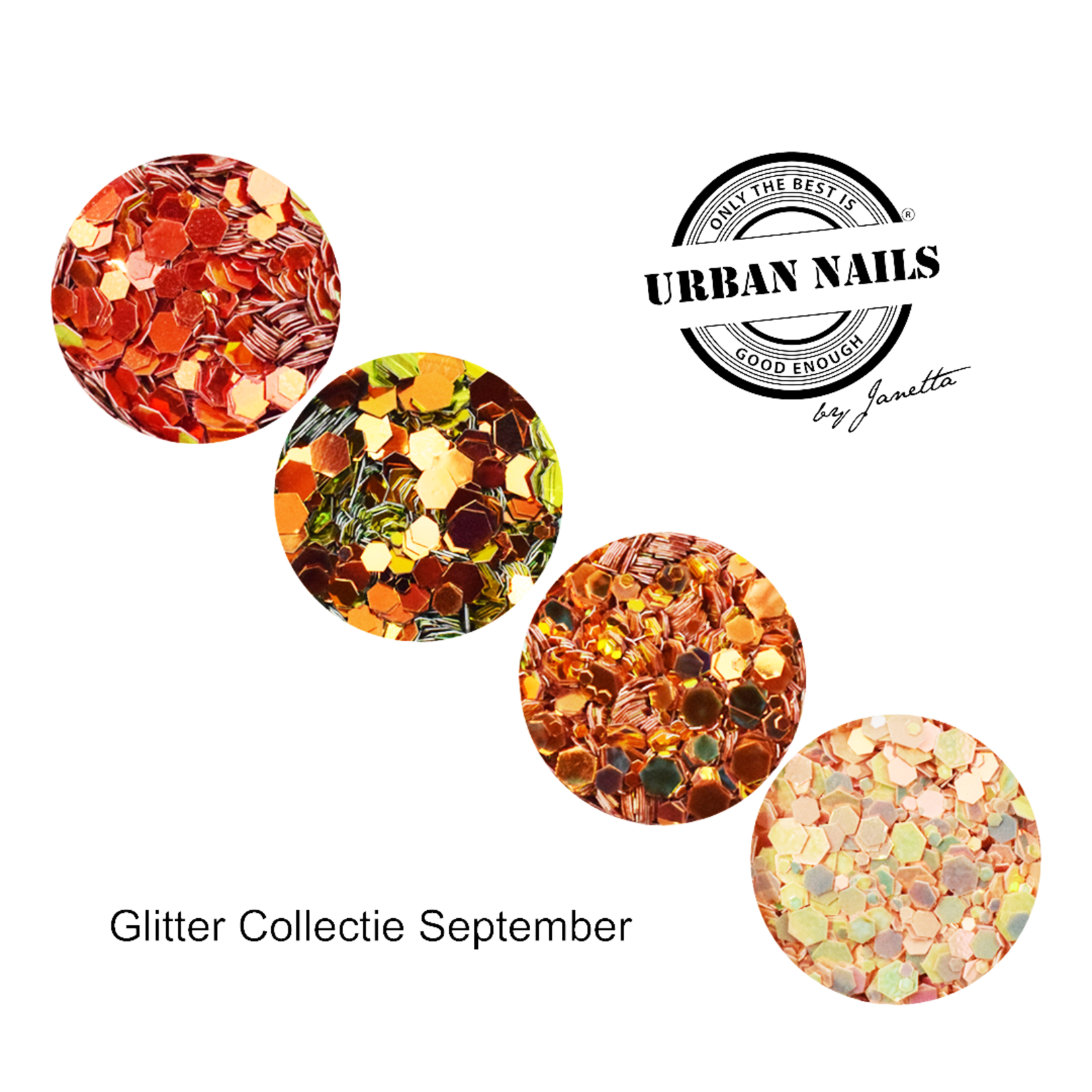 Urban Nails Glitter Collection September