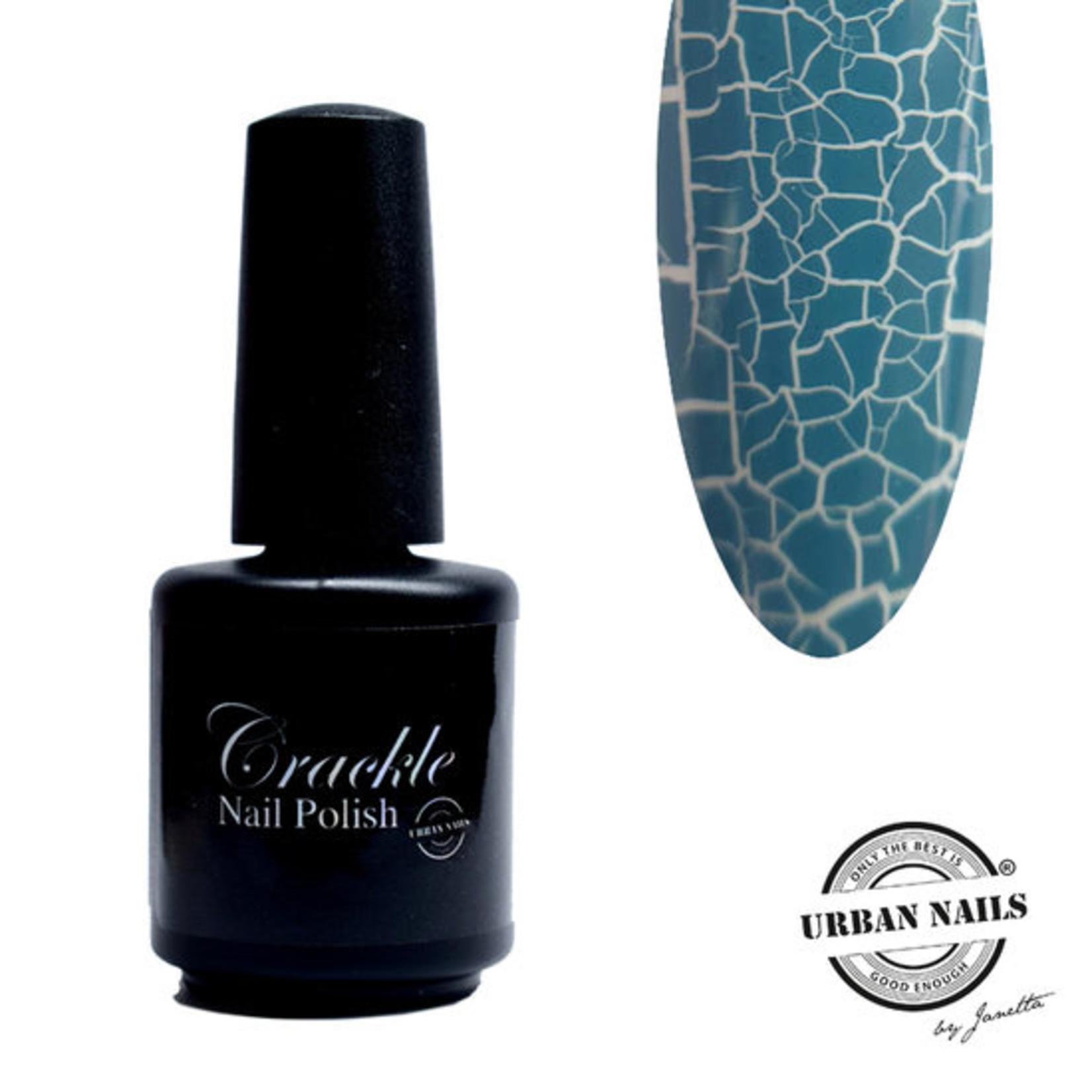 Urban Nails Crackle Nail Polish 8 Grijs Blauw