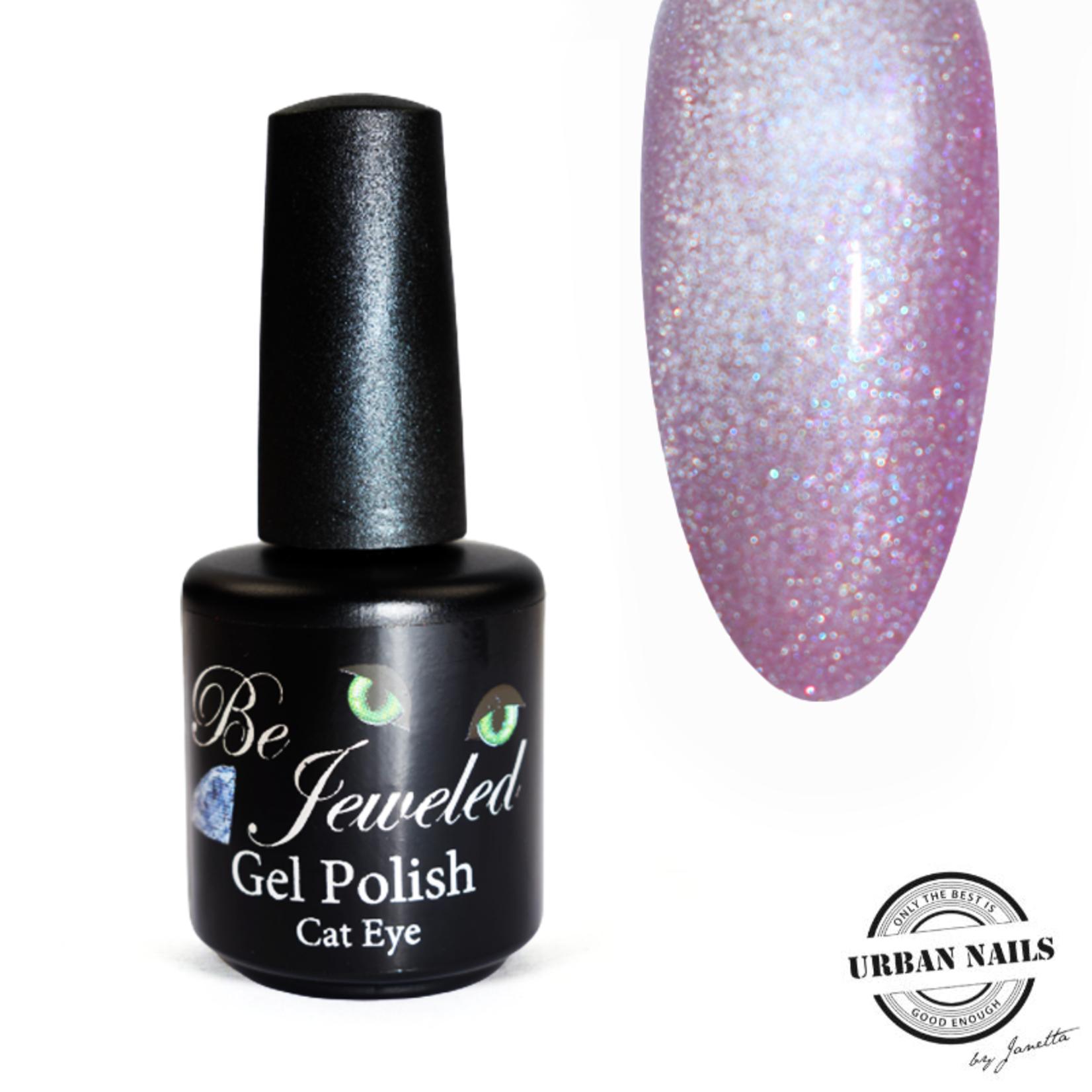 Urban Nails Be Jeweled Diamond Cateye 04 Licht Roze
