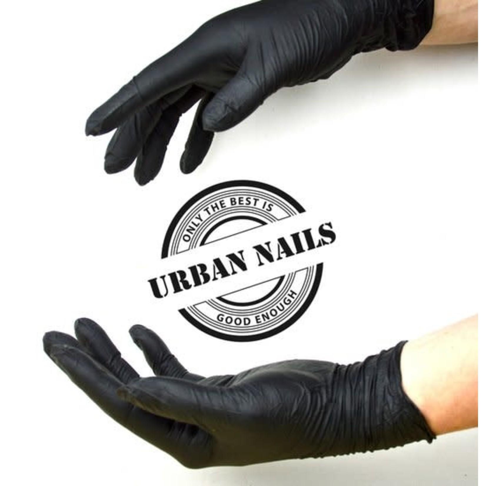 Urban Nails Handschoenen Zwart Nitrill
