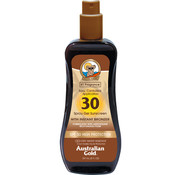 Australian Gold SPF 30 Spray Gel met bronzer