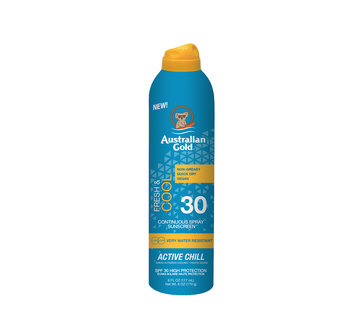 Australian Gold SPF 30 Continuous Active Chill