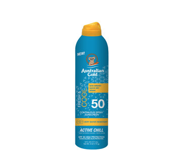 Australian Gold SPF 50 Continuous Active Chill