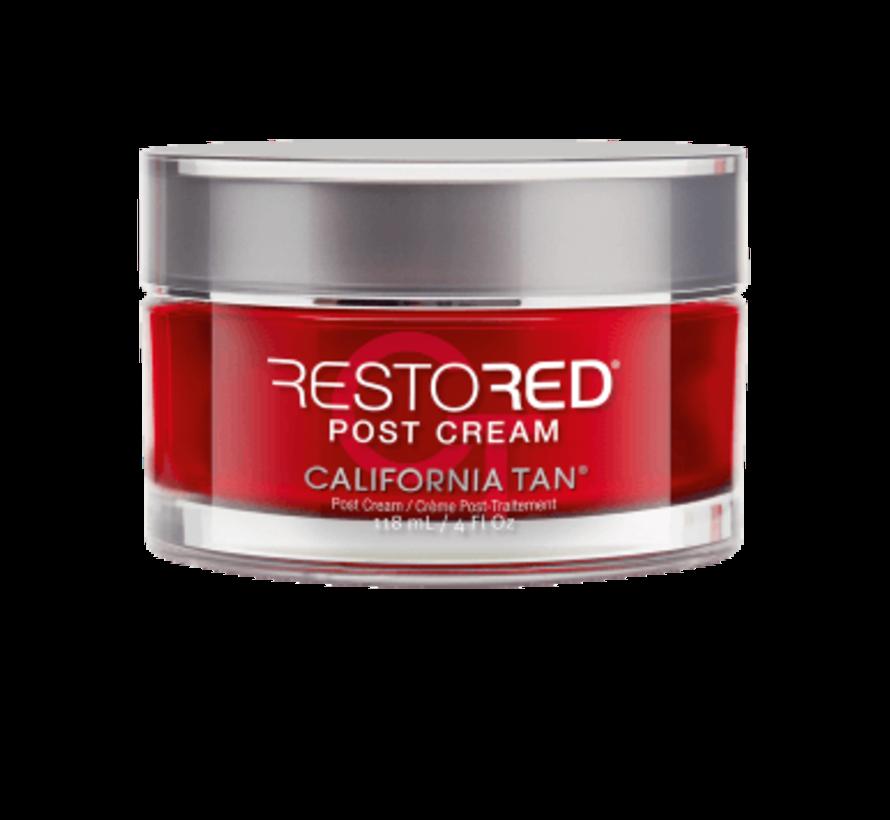 Restored Post Cream step 3 - aftersun