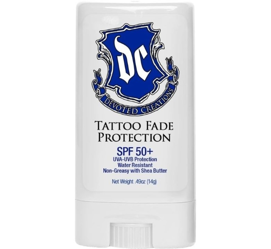 DC Tattoo Fade Protection SPF 50 Stick 14 gr - Zonnebankcrème