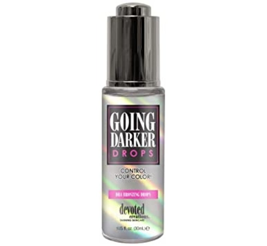 Going Darker Drops - Zonnebankcrème