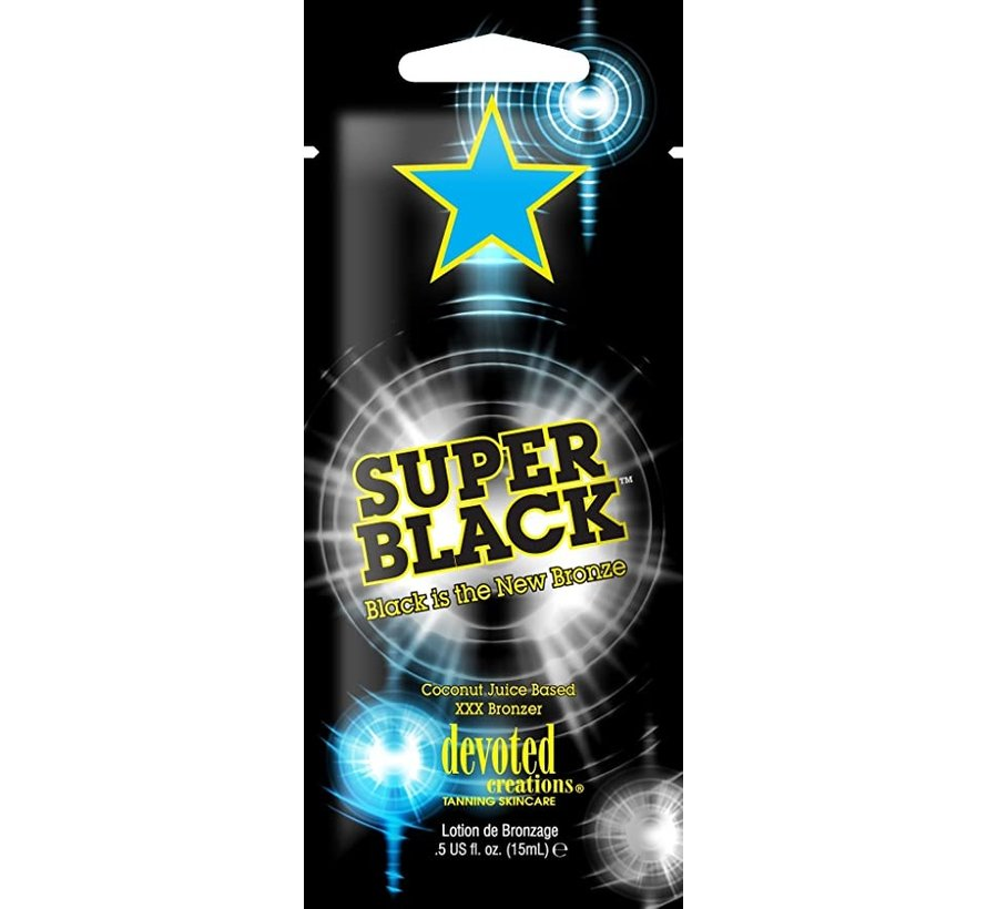 Super Black - Zonnebankcrème