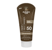 Australian Gold SPF 50 Face met Self Tanner