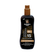 Australian Gold SPF 15 Spray Gel + Bronzer 100 ml - Reisverpakking