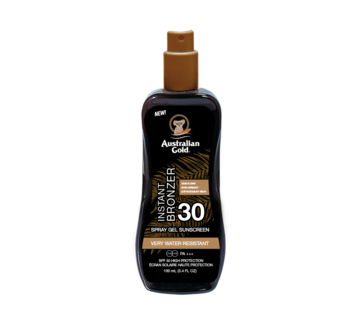Australian Gold SPF 30 Spray Gel met Bronzer 100 ml - Reisverpakking