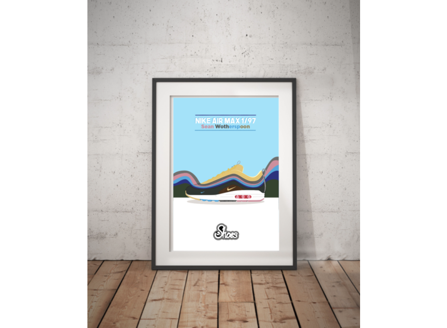 Air Max 1/97 Sean Wotherspoon Poster