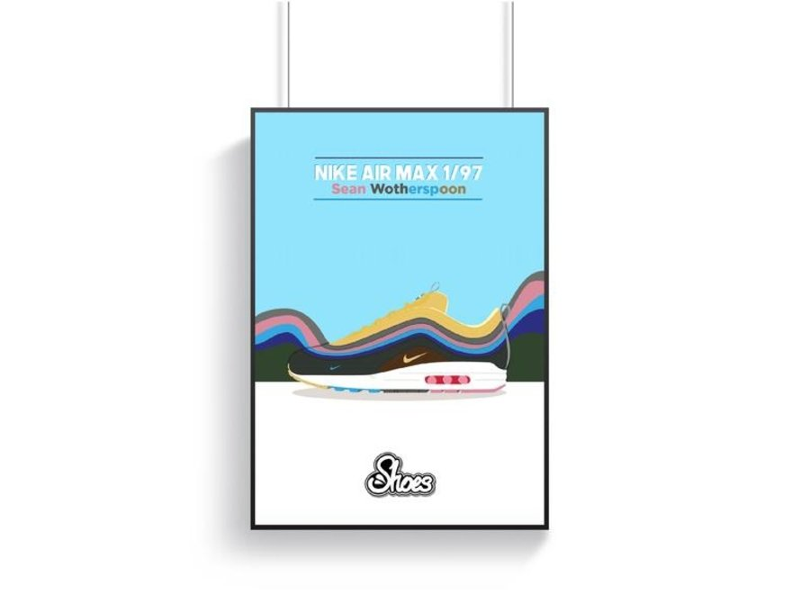 Air Max 1/97 Sean Wotherspoon Poster - A3
