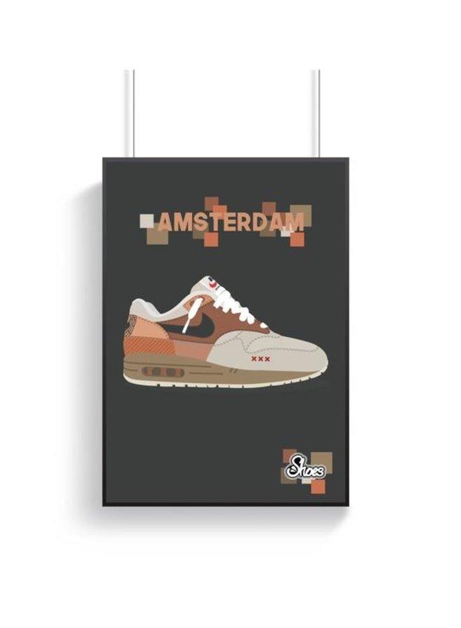 Nike Air Max 1 Amsterdam Poster