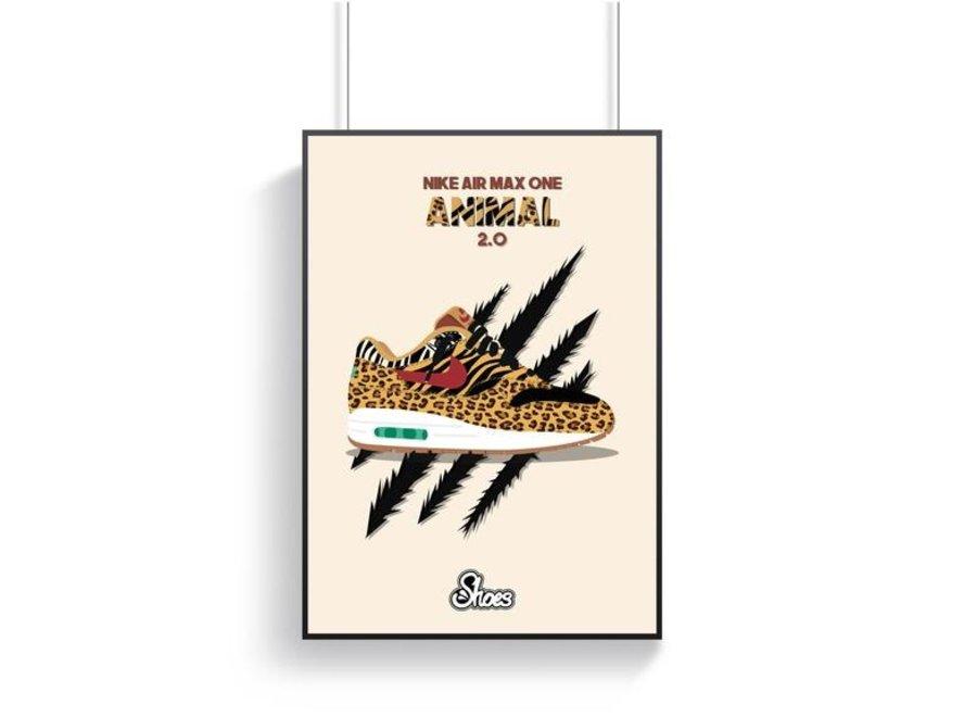 Air max 1 Animal 2.0 Poster
