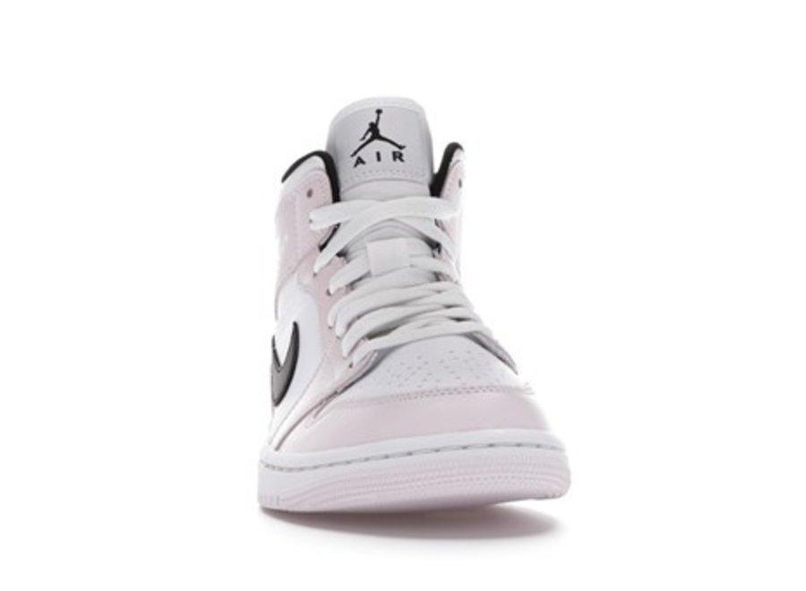 Jordan 1 Mid Barely Rose (W)