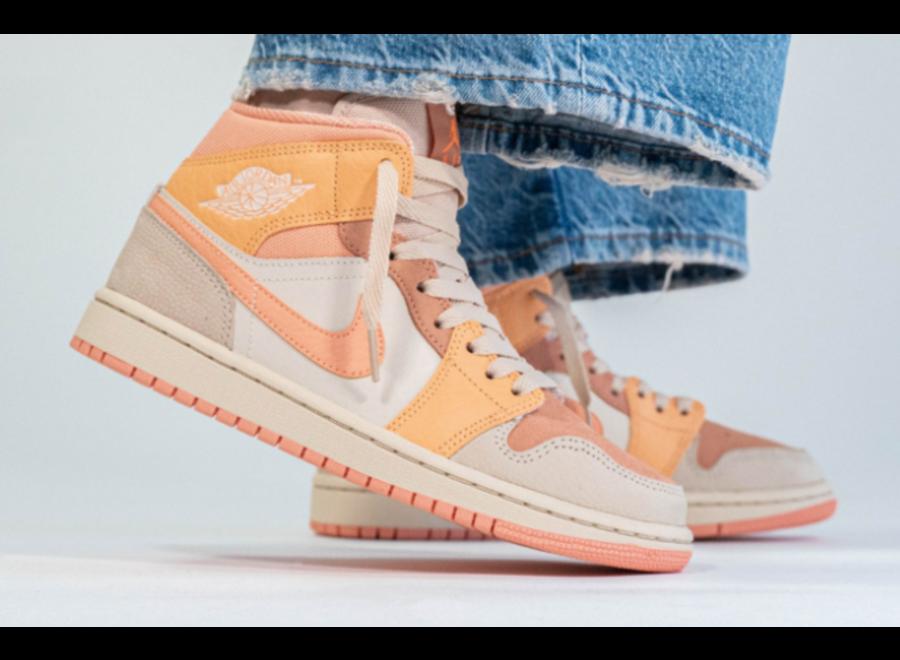 Jordan 1 Mid 'Apricot'