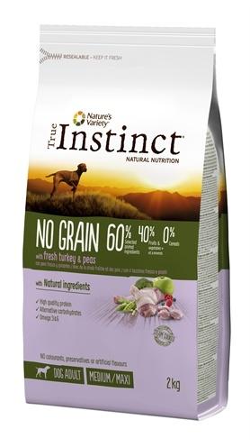 True instinct True instinct no grain medium adult turkey