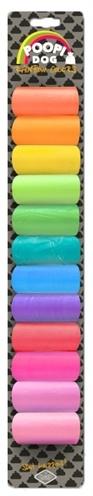 D&d D&d poopi-dog poepzakjes regenboog kleuren
