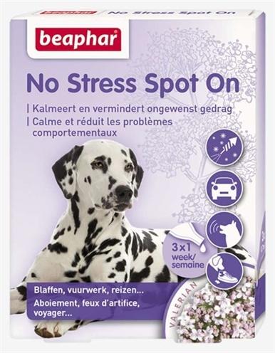 Beaphar No stress spot on kalmeert en stimuleert goed gedrag hond