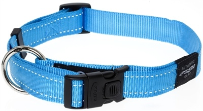 Rogz for dogs Rogz for dogs lumberjack halsband turquoise