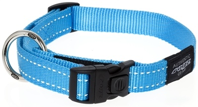 Rogz for dogs Rogz for dogs fanbelt halsband turquoise