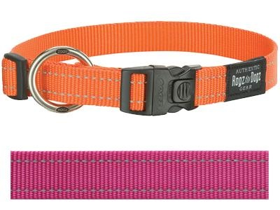 Rogz for dogs Rogz for dogs fanbelt halsband roze