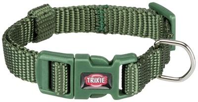Trixie Trixie halsband hond premium bosgroen